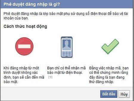 Bảo mật Facebook 2 lớp