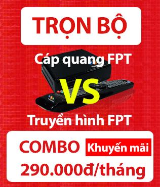COMBO Cáp quang FPT và truyền hình FPT