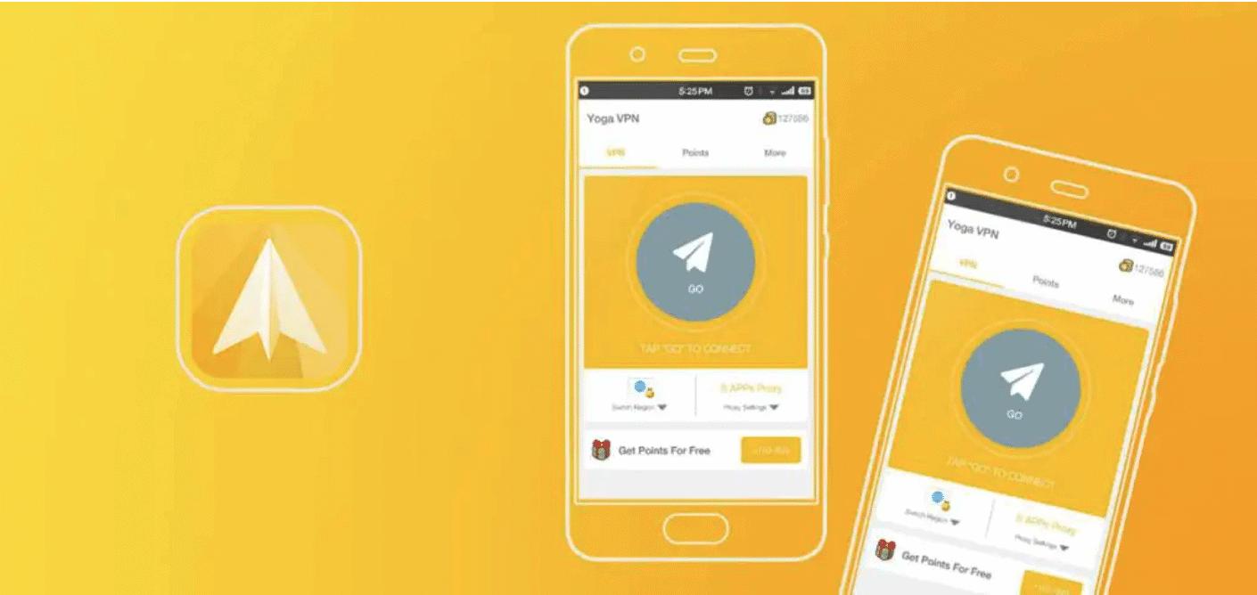 App Yoga VPN Miễn phí