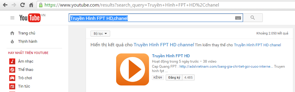 youtube-chanel-fpt-telecom