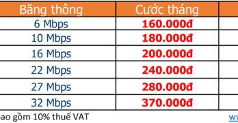 Lắp mạng FPT huyện Bắc Bình, Bình Thuận