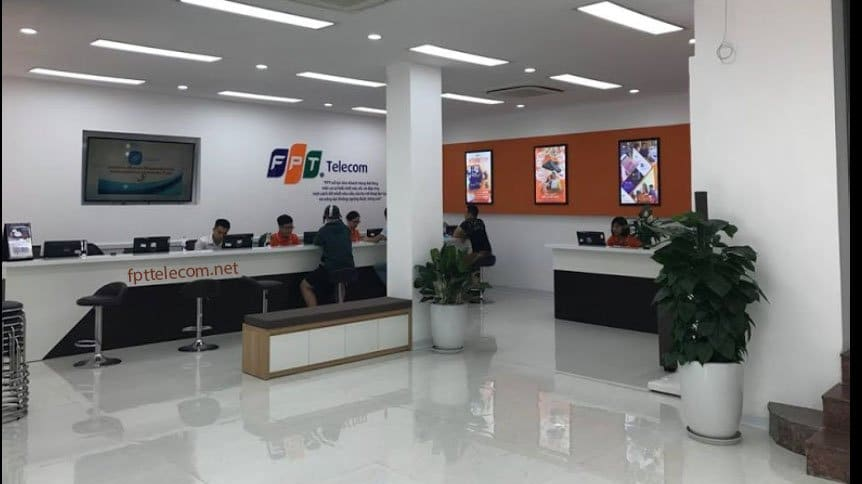Quầy giao dịch FPT Telecom