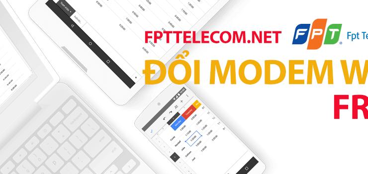 Đổi Modem wifi thế hệ cũ lên Modem wifi G-97D2 thế hệ mới