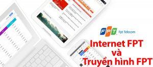 Gói cước internet cáp quang Fiber F4 và truyền hình FPT