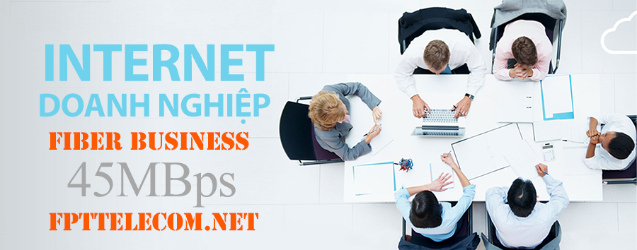 Gói cước Fiber Business - Cáp quang FPT doanh nghiệp tốc độ 45Mbps