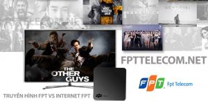 Gói cước Internet Cáp quang FPT F2 và truyền hình FPT