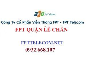 Lắp mạng cáp quang FPT tại quận Lê Chân thành phố Hải Phòng