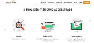 Accesstrade.vn – Đăng ký, tạo sản phẩm, nhận hoa hồng toàn tập