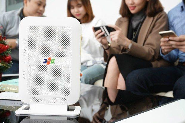 Dùng Modem wifi băng tần kép FPT cho điện thoại