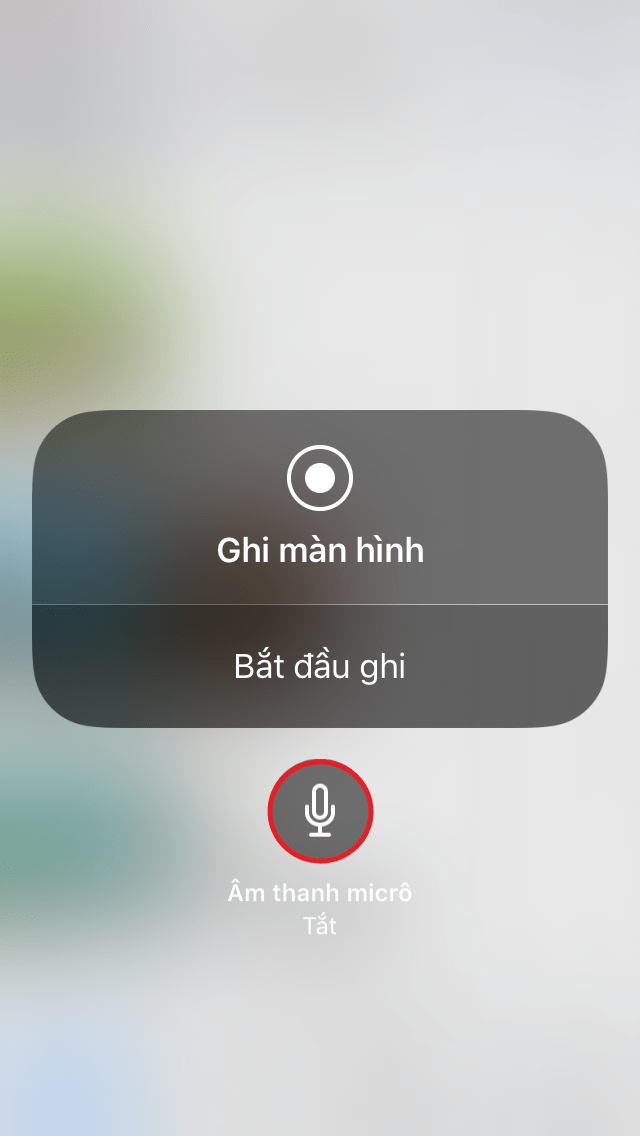 Bật chức năng ghi âm khi quay video màn hình Iphone