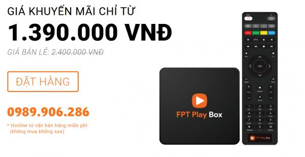 Sản phẩm truyền hình internet FPT Play BOX