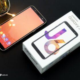 Cận cảnh điện thoại Samsung Galaxy j6