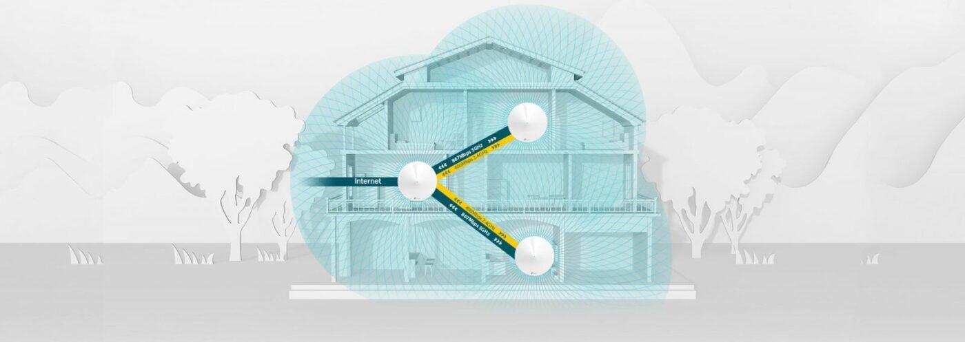 Loại bỏ hoàn toàn các khu vực Wi-Fi yếu với Hệ thống Wi-Fi Deco