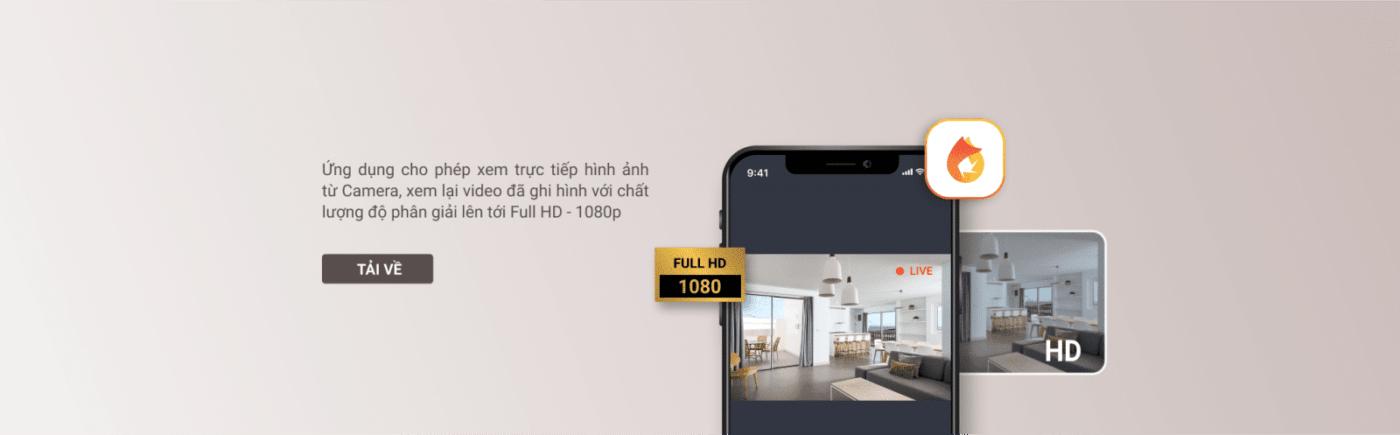 App thông minh trên camera FPT