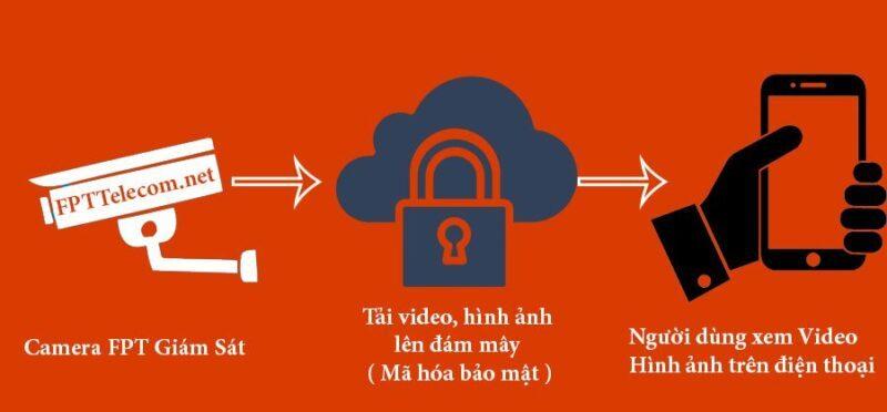 Quá trình lưu trữ video, hình ảnh của Camera FPT