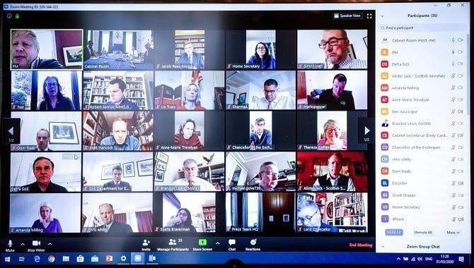 Ứng dụng họp, học trực tuyến Zoom