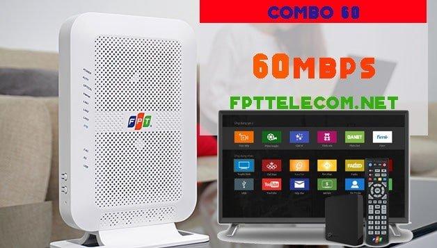 Gói cước Super combo 60 truyền hình FPT