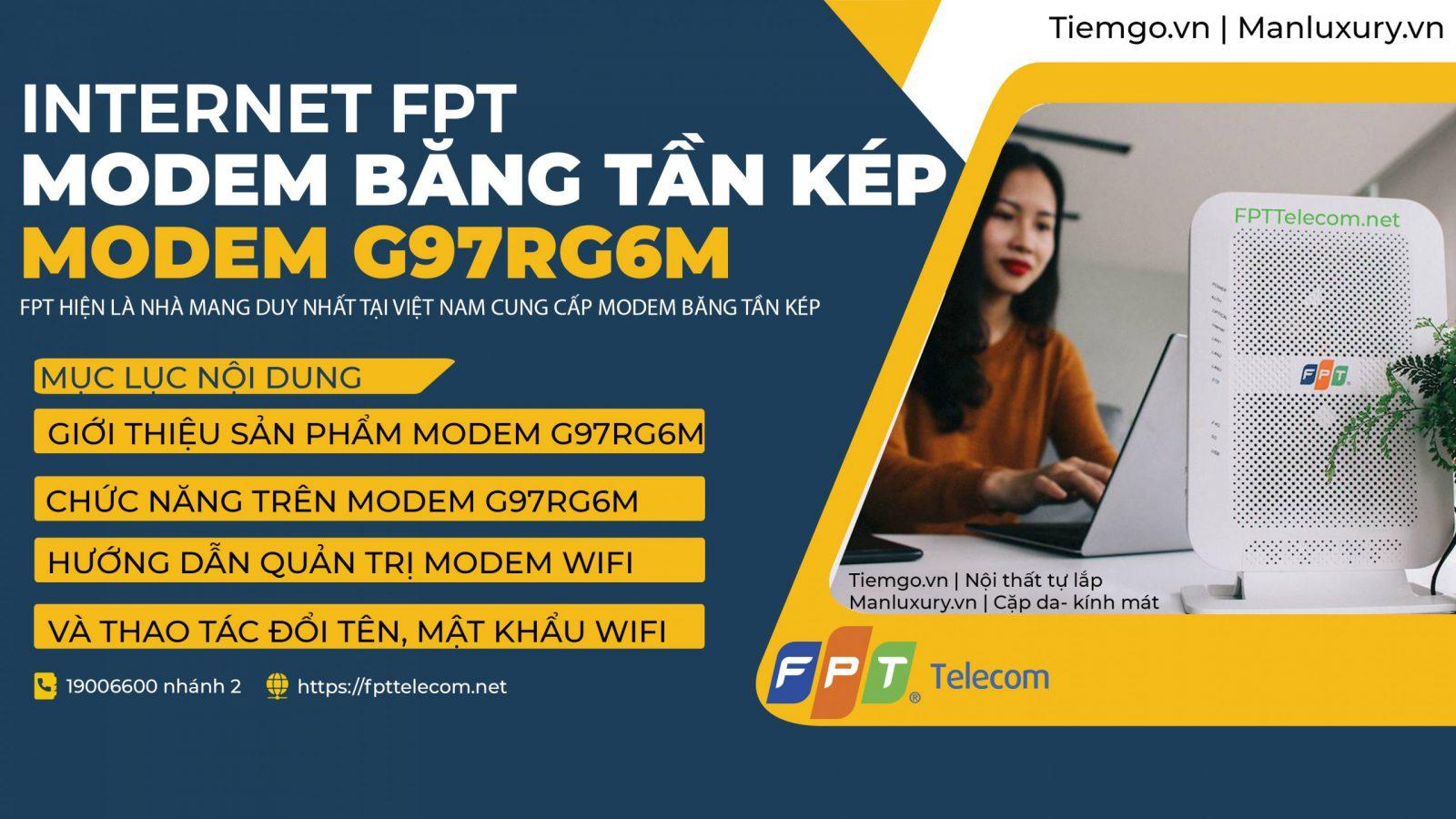 Modem wifi băng tần kép FPT