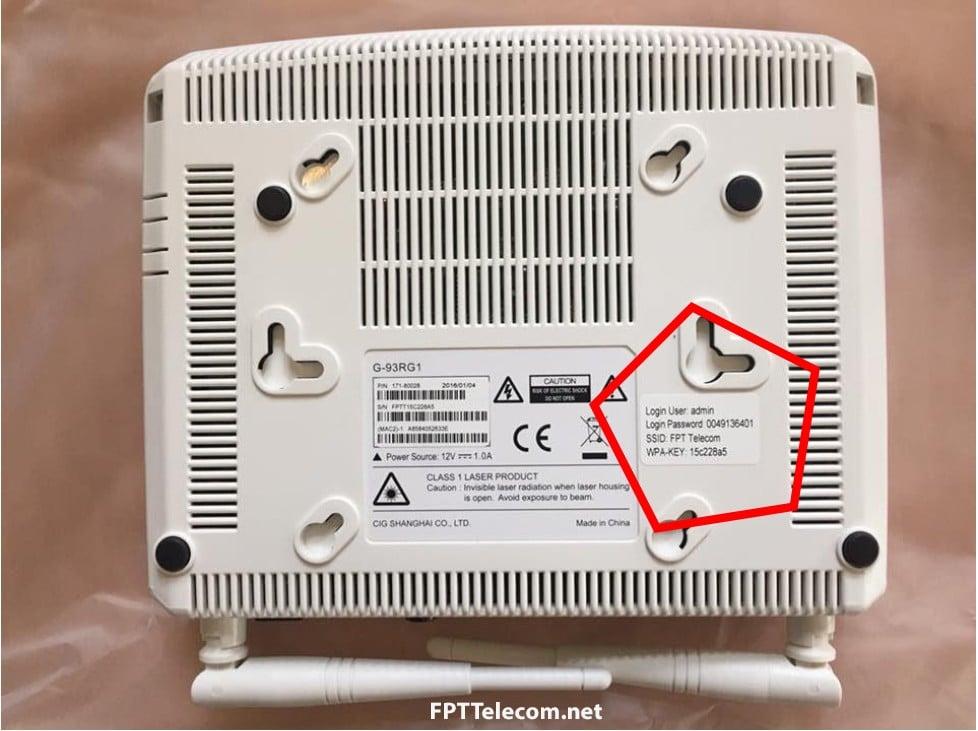 Hướng dẫn cài đặtWifi modem CIG G-93RG