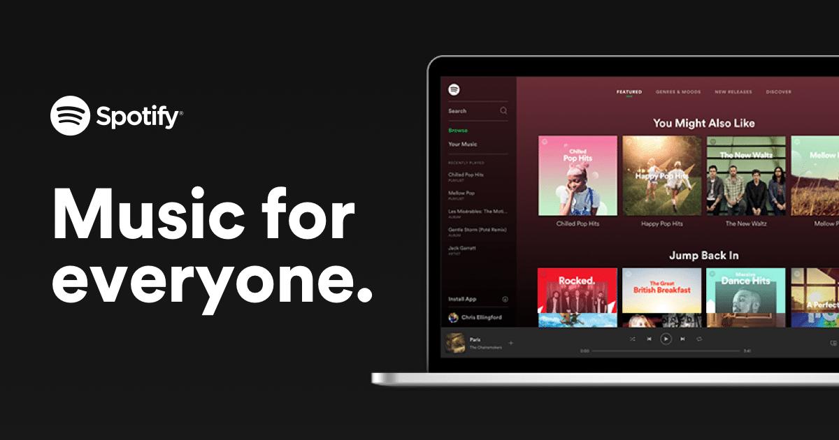 Spotify stream nhạc trực tuyến