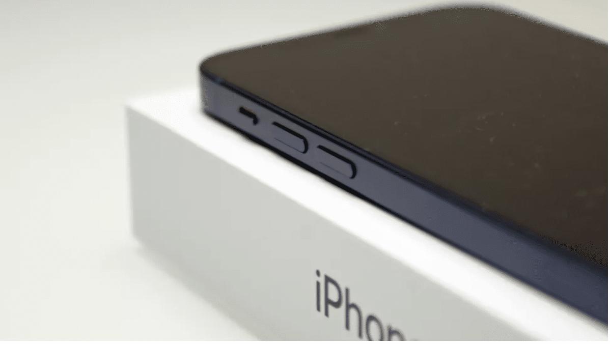 Thiết kế mới tren iPhone 12