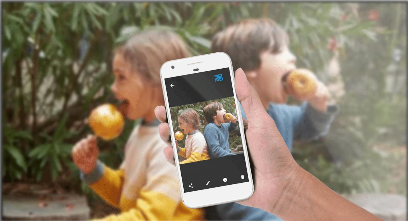 Tính năng ChromeCast trên Android TV 10