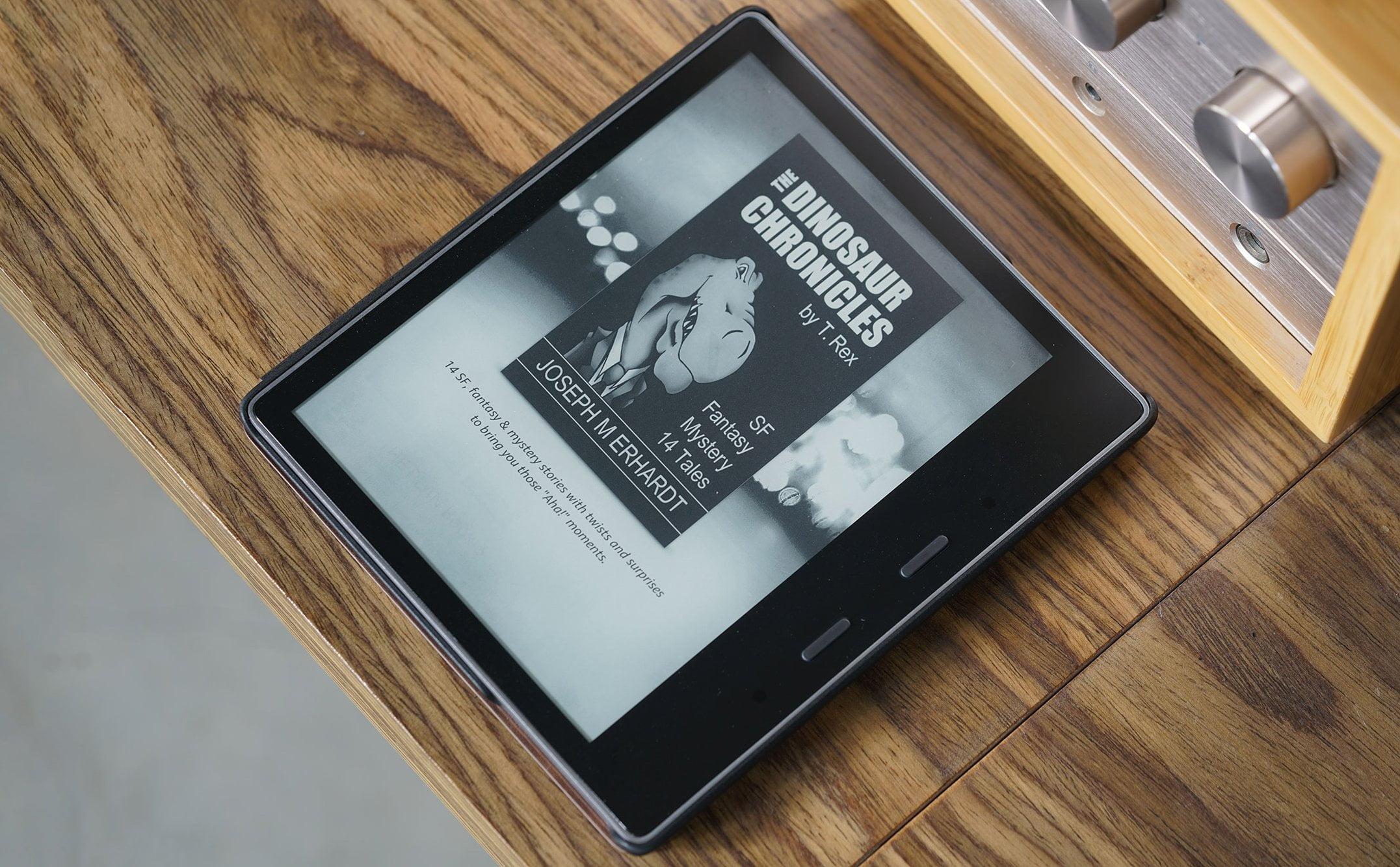 Amazon Kindle Oasis 3, không có nhiều nâng cấp, chế độ đèn vàng dịu mắt hơn